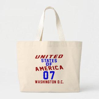 Bolsa Tote Grande C.C. de Washington dos Estados Unidos da América