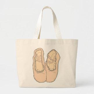 Bolsa Tote Grande Calçados de balé