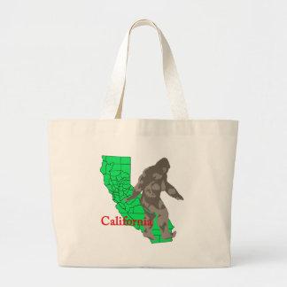 Bolsa Tote Grande Califórnia bigfoot