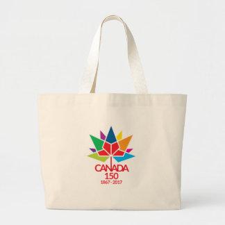 Bolsa Tote Grande Canadá 150 que comemora 150 anos