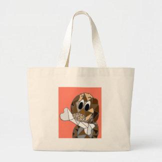 Bolsa Tote Grande cão com osso