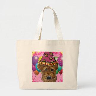 Bolsa Tote Grande Cão do partido de Airedale