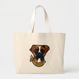 Bolsa Tote Grande Cão do pugilista