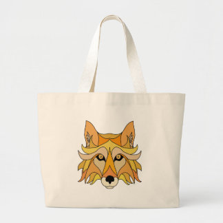 Bolsa Tote Grande Cara do Fox