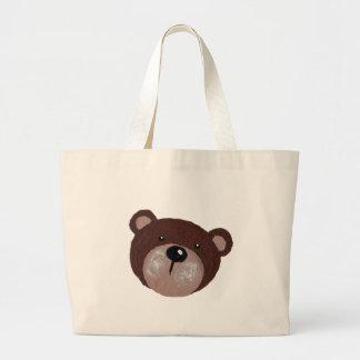 Bolsa Tote Grande Cara do urso