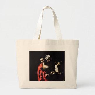 Bolsa Tote Grande Caravaggio - Salome - trabalhos de arte barrocos
