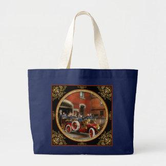 Bolsa Tote Grande Carro de bombeiros - o esquadrão 1911 do vôo