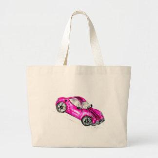 Bolsa Tote Grande Carro desportivo Sketch2