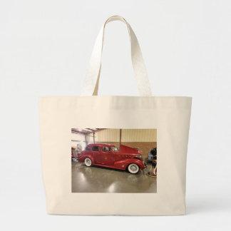 Bolsa Tote Grande Carro do clássico do vintage