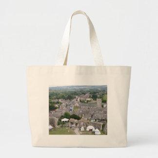 Bolsa Tote Grande Castelo de Corfe, Dorset, Inglaterra