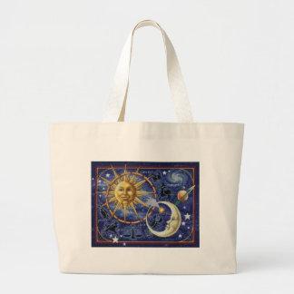 Bolsa Tote Grande celestial