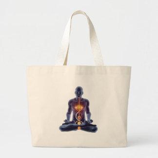 Bolsa Tote Grande chakras do homem