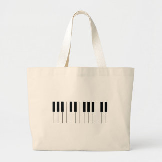 Bolsa Tote Grande Chaves do piano