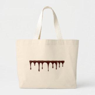 Bolsa Tote Grande Chocolate derretido