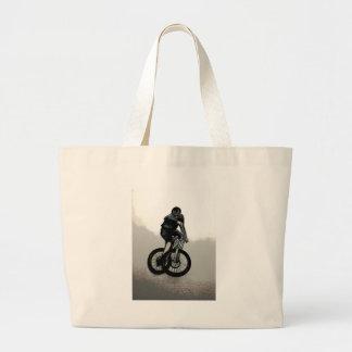 Bolsa Tote Grande CICLISTA do motociclista MTB BMX da montanha