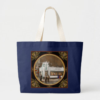 Bolsa Tote Grande Cidade - Amsterdão NY - Hamburger 5 centavos 1941