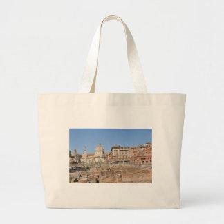 Bolsa Tote Grande Cidade antiga de Roma, Italia