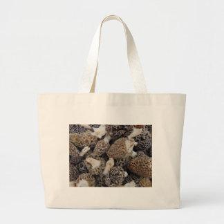 Bolsa Tote Grande Cogumelos do Morel