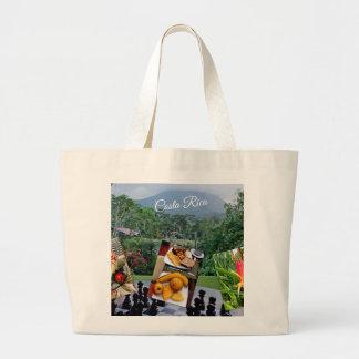 Bolsa Tote Grande Coleção do viagem de Costa Rica