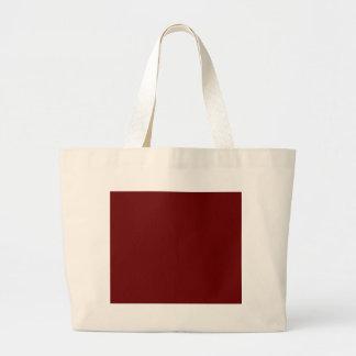 Bolsa Tote Grande colora o sangue vermelho
