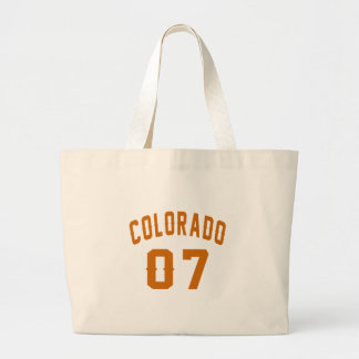 Bolsa Tote Grande Colorado 07 designs do aniversário