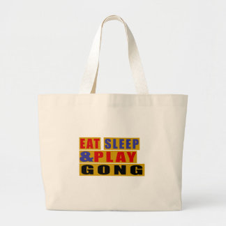 Bolsa Tote Grande Coma o GONGO do sono e do jogo