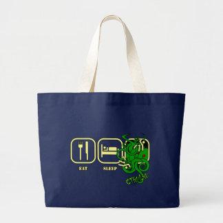 Bolsa Tote Grande Coma - sono - o bolsa/saco de compras de Cthulhu