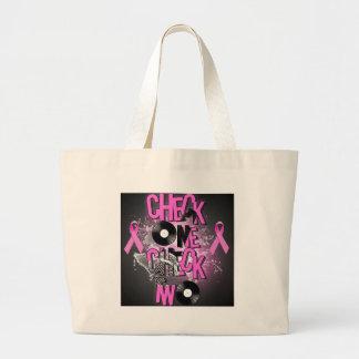 Bolsa Tote Grande Consciência do cancro da mama