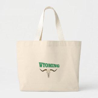 Bolsa Tote Grande Crânio de Wyoming