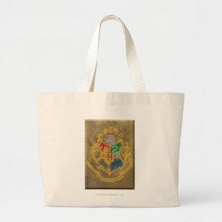 Bolsa Tote Grande Crista rústica de Harry Potter   Hogwarts
