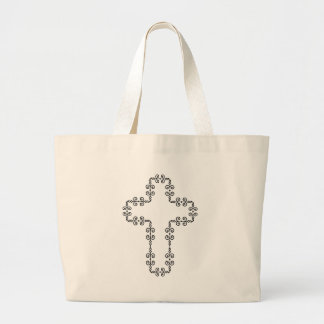 Bolsa Tote Grande Cruz do cristo