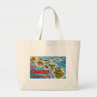Bolsa Tote Grande Cumprimentos de Havaí