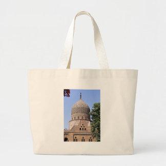 Bolsa Tote Grande Cúpula duma mesquita em Cairo