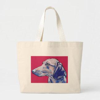 Bolsa Tote Grande dachshund