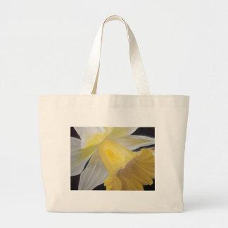 Bolsa Tote Grande Daffodil amarelo