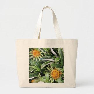 Bolsa Tote Grande Dente-de-leão um la Van Gogh