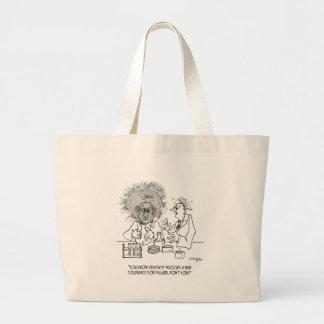 Bolsa Tote Grande Desenhos animados 1868 da faculdade criadora
