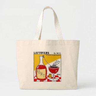 Bolsa Tote Grande Desenhos animados engraçados bonitos de Laftovers