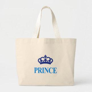 Bolsa Tote Grande design bonito legal do príncipe herdeiro