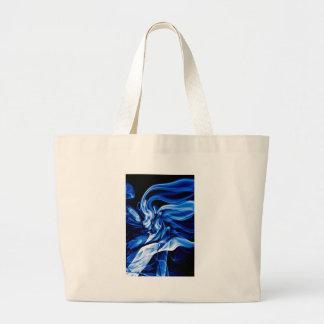 Bolsa Tote Grande Design da arte do fumo do reciclado