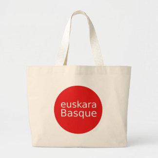 Bolsa Tote Grande Design da língua Basque