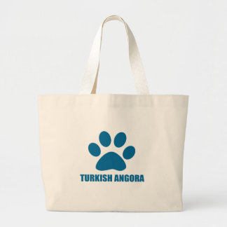 BOLSA TOTE GRANDE DESIGN TURCO DO CAT DO ANGORA