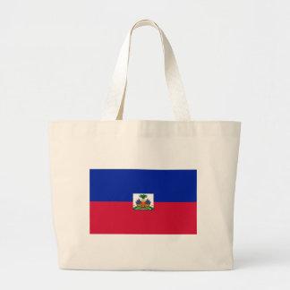 Bolsa Tote Grande d'Haïti de Drapeau - bandeira de Haiti