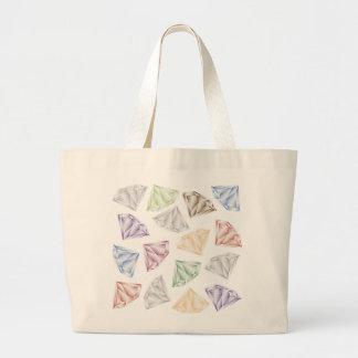 Bolsa Tote Grande Diamantes coloridos para meu querido
