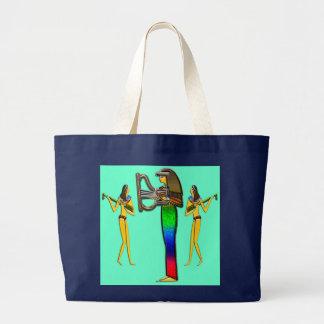 Bolsa Tote Grande Digital pintada; Scu adiantado da foto do egípcio