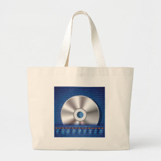 Bolsa Tote Grande Disco CD