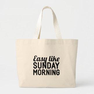 Bolsa Tote Grande Domingo de manhã