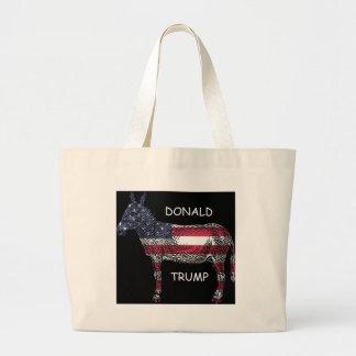 Bolsa Tote Grande Donald Trump - que asno