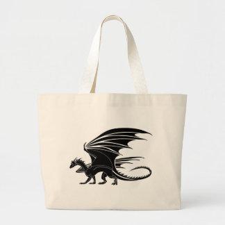 Bolsa Tote Grande Dragão irritado