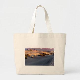 Bolsa Tote Grande Dunas de areia lisas o Vale da Morte do Mesquite